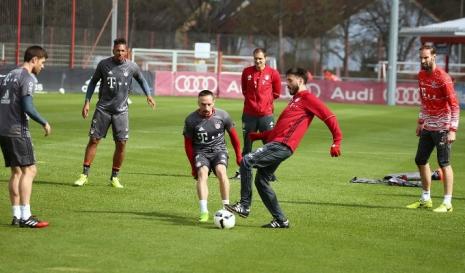 Давиде Анчелотти провёл тренировку с игроками «Баварии»