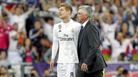 Кроос: все расстроились, когда Анчелотти ушёл из «Реала»