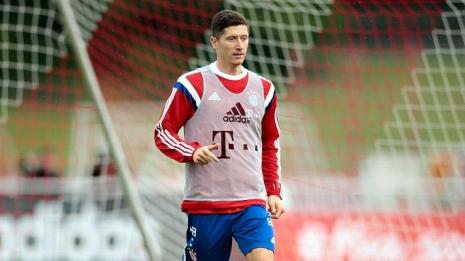Левандовски тренировался лишь 15 минут перед матчем с «Реалом»