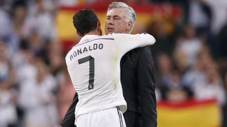 Анчелотти: лучшим игроком, с которым я работал, был Роналду