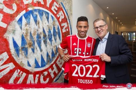 Толиссо стал игроком «Баварии»